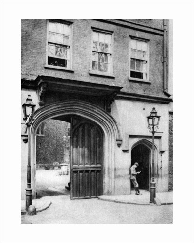 16th century gateway to the Charterhouse, London by Joel