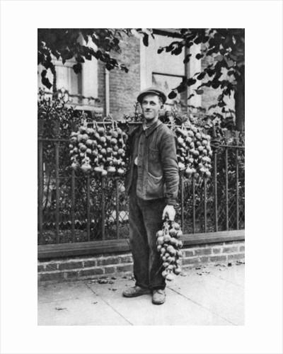 Breton onion seller, London by McLeish