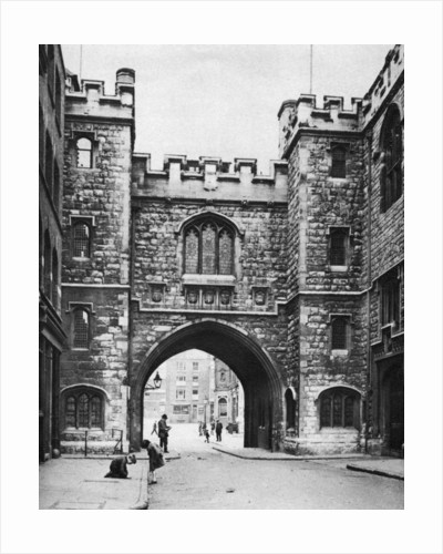St John's Gate on a Sunday, Clerkenwell, London by McLeish