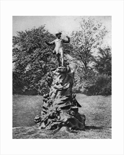 The Peter Pan statue, Kensington Gardens, London by Arnold