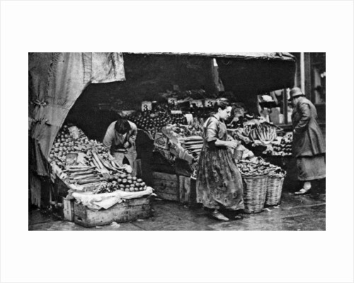 A greengrocer of the Commercial Road, London by Anonymous