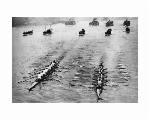 Oxford and Cambridge Boat Race, London by Anonymous