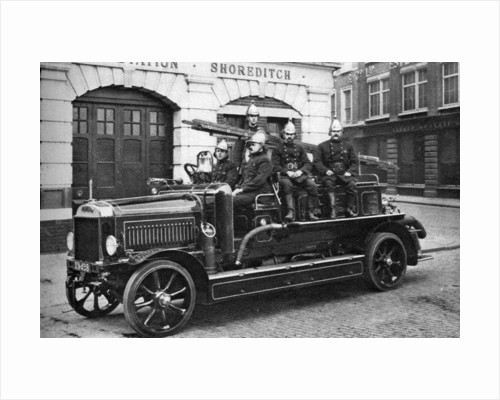 A fire engine, Shoreditch, London by Brightman