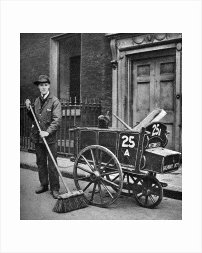 Road sweeper, London by Anonymous