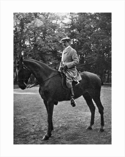 Colonel Brocklehurst at Bernsdorff by Queen Alexandra