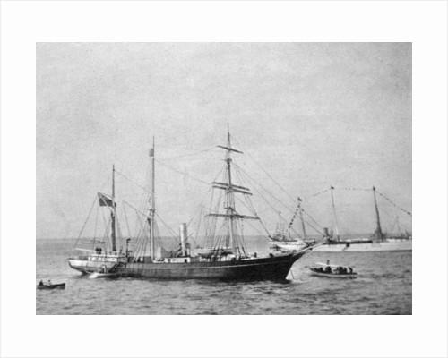 Ernest Shackleton's ship HMS Nimrod by Queen Alexandra