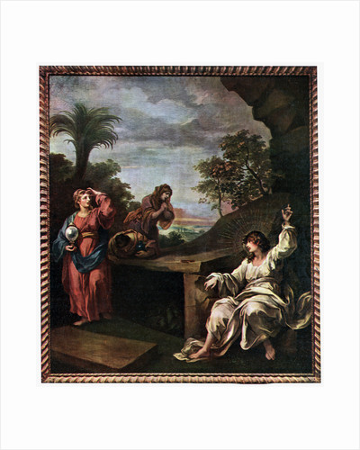 The Three Maries at the Tomb by William Hogarth