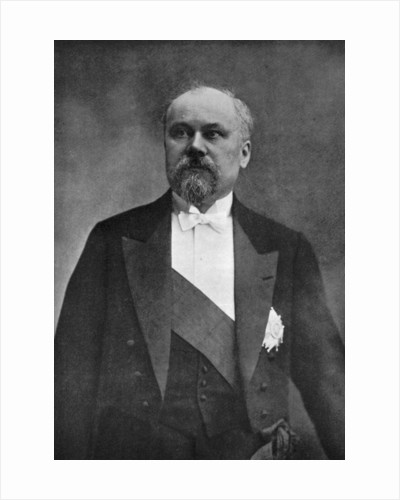 Raymond Poincare, French politician by Anonymous