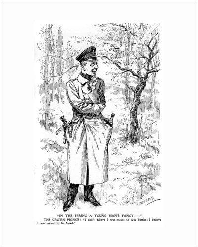 'In the Spring a Young Man's Fancy...', First World War by Anonymous