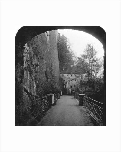 Sperrbogen, Hohensalzburg Fortress, Salzburg, Austria by Wurthle & Sons