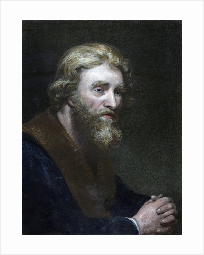 Portrait of a bearded man by Richard James Lane