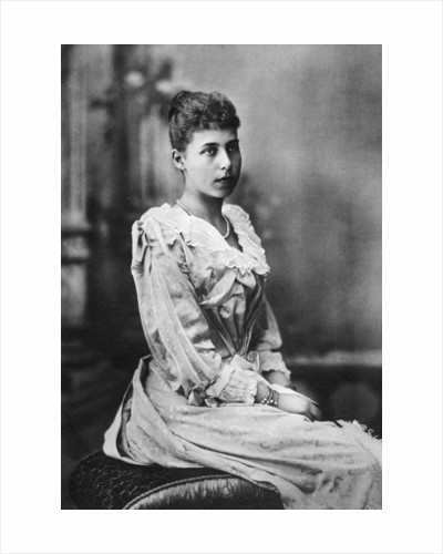 Alice Maud Mary, Grand Duchess of Hesse-Darmstadt by Anonymous