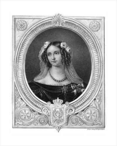 Elizabeth Louise, Queen of Prussia by W Clerk