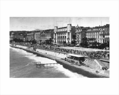Le Palais de la Mediterranee on Promenade des Anglais, Nice, South of France by Anonymous