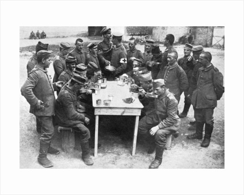 German prisoners of war, First World War by Anonymous