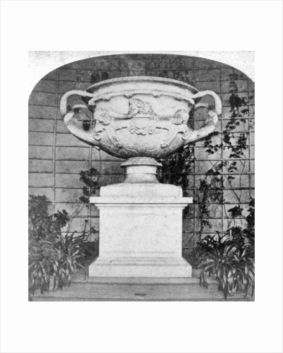 The Warwick Vase, Warwick Castle, Warwick, Warwickshire by Anonymous
