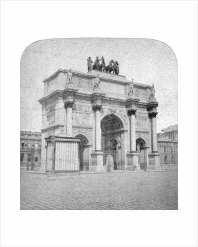 Arc de Triomphe du Carrousel, Paris by Albert Hautecoeur