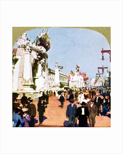 General view of the Pike at the World Fair, St Louis, Missouri, USA by Anonymous
