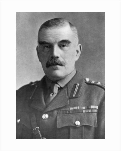 General Sir William Robertson, British soldier by Bassano Studio