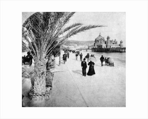 The 'Promenade des Anglais', Nice, France by Anonymous
