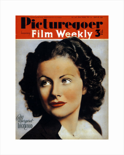 Margaret Lockwood (1916-1990), British actress by Anonymous
