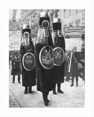 Leipzig's great advertisement parade, Leipzig, Germany by Anonymous