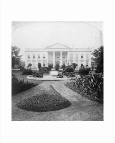 The White House, Washington, DC., USA by Underwood & Underwood