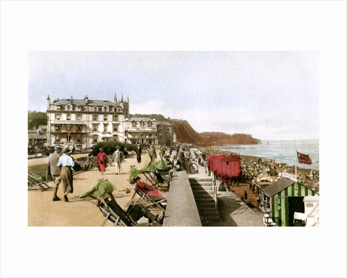 East Cliff Promenade, Teignmouth, Devon by EP Bucknall
