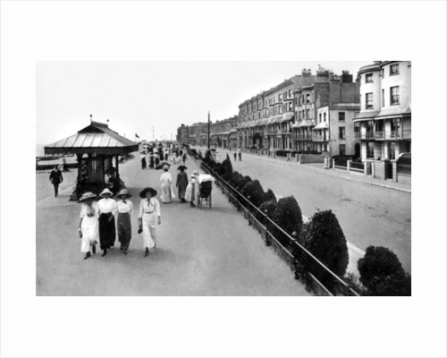 The promenade, West Worthing, West Sussex by Valentine & Sons