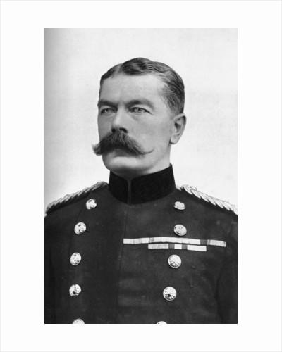 Field Marshall Earl Kitchener, British Secretary of State for War, First World War by Bassano Studio