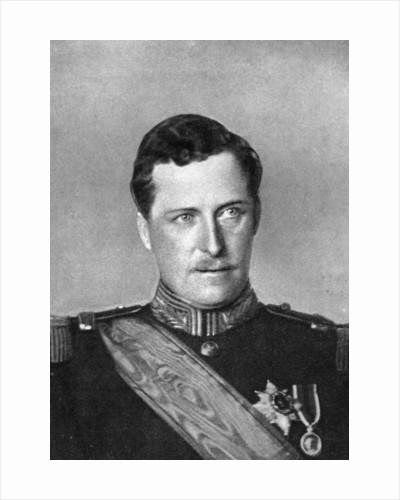 Albert, King of Belgium, First World War by W&D Downey