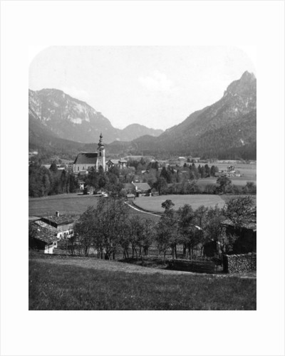 Bad Reichenhall and Grossgmain, Germany and Austria by Wurthle & Sons