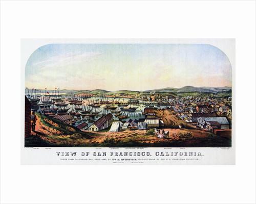 San Francisco, California by Nathaniel Currier