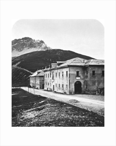 Santa Maria, on the Umbrail mountain pass, Tyrol by Wurthle & Sons