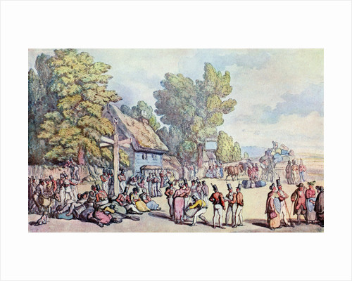 The Falmouth Road by Thomas Rowlandson