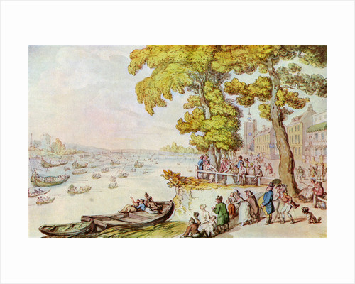 The Chelsea Mall by Thomas Rowlandson