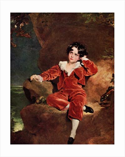 Master Charles William Lambton by Thomas Lawrence
