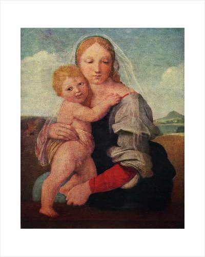 The Mackintosh Madonna by Raphael