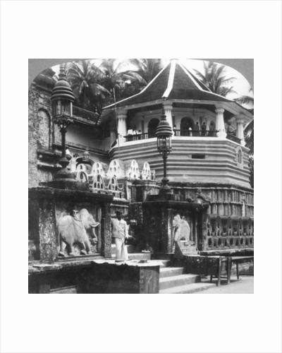 Dalada Maligawa, Palace of Buddha's Tooth, Kandy, Sri Lanka by Underwood & Underwood
