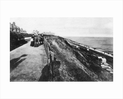 West Cliff and gardens, Felixstowe, Suffolk by Anonymous