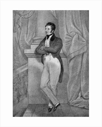 Captain Frederick Marryat (1792-1848), English novelist by Anonymous