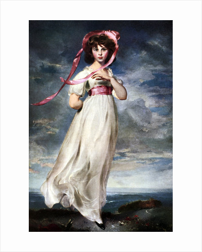 Sarah Barrett Moulin ('Pinkie') by Thomas Lawrence