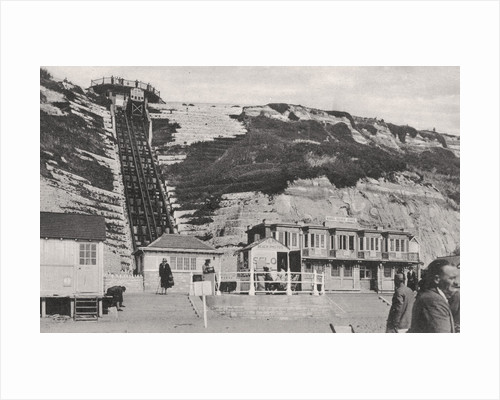 The cliff lift at Bournemouth, Dorset by Anonymous