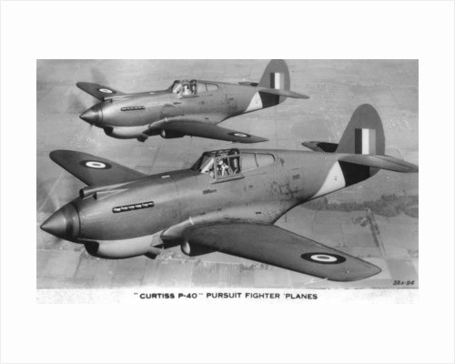 Curtiss P-40 Pursuit Fighter Planes by Anonymous