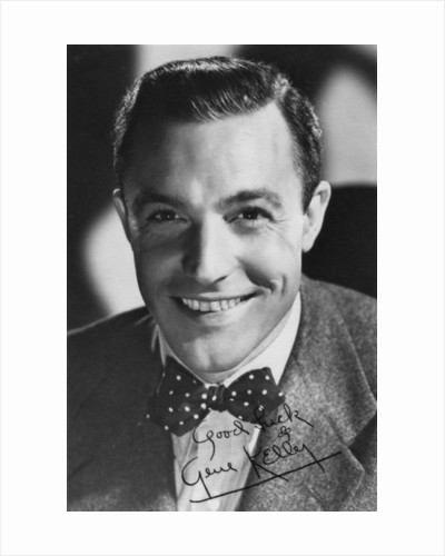 Gene Kelly (1912-1996), American dancer, actor and director by Anonymous