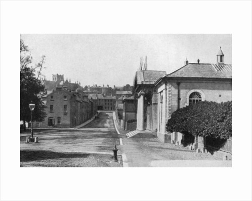 College Street, Armagh, Northern Ireland by W Lawrence