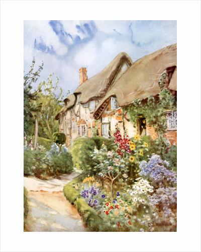 Anne Hathaway's Cottage, Shottery, Warwickshire by George F Nicholls