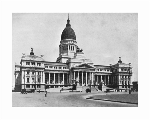 Argentine Congress Hall, Buenos Aires, Argentina by Anonymous
