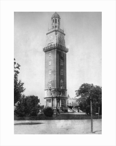 British Clock Tower in commemoration of Argentine independence, Buenos Aires, Argentina by Anonymous