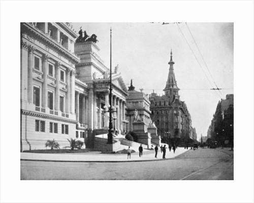 Congress Hall and Avenida Callao, Buenos Aires, Argentina by Anonymous